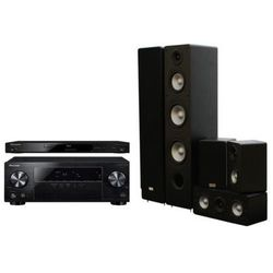 Kino domowe PIONEER VSX-430-K + BDP-100-K + TAV-406 v.2 Czarny