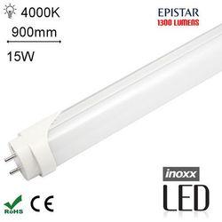 INOXX 90T8K4000 MI FS ALŚwietlówka LED neutralna 900mm G13 o mocy 15W 1300 lumenów 4000K