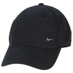 czapka z daszkiem Nike Heritage86 Metal Swoosh - 010/Black/Metallic Silver