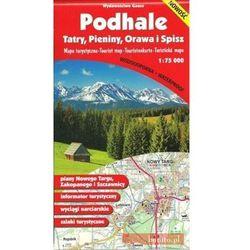 Podhale Pieniny Orawa I Spisz Mapa 1:75 000 Foliowana - Praca zbiorowa - Dostawa Gratis, szczegóły zobacz w sklepie