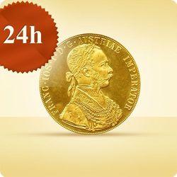 4 Złote Dukaty Austriackie (czworak) - wysyłka 24 h!