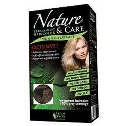 Sante Verte Nature & Care - Naturalna farba do włosów Ciemny Brąz