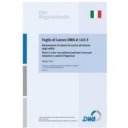 Foglio di Lavoro DWA-A 143-3 Risanamento di sistemi di scarico all'esterno degli edifici Parte 3: Liner con polimerizzazione in loco per tubazioni e c