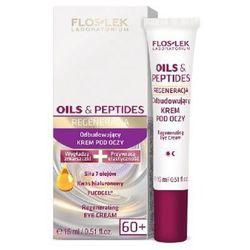 Floslek Oils & Peptides 60+ Krem pod oczy odbudowujący 15ml