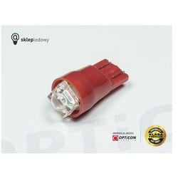 Żarówka Led W5W W3W T10 1x FLUX Czerwony