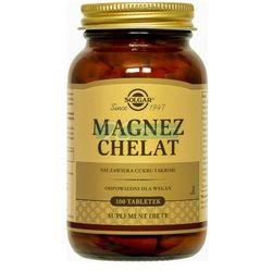 SOLGAR Magnez chelat aminokwasowy 100 Kapsułek