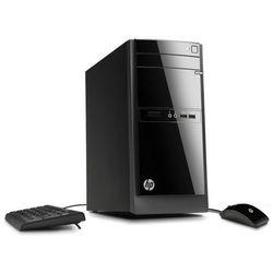 Komputer stacjonarny HP 110-210 A6-5200 16G 256GB SSD WIFI Win10 DVD-RW + klawiatura, mysz