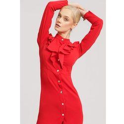 02bc6af4d2 suknie sukienki klasyczna czerwona sukienka japan style (od Czerwona ...