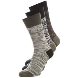 Brooklyn's Own by Rocawear 3 PACK Skarpety dark grey/light grey/black