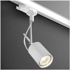Reflektorowa LAMPA sufitowa PETPOT FINE 13511-03 Aquaform metalowa OPRAWA do systemu szynowego 3-fazowego biały