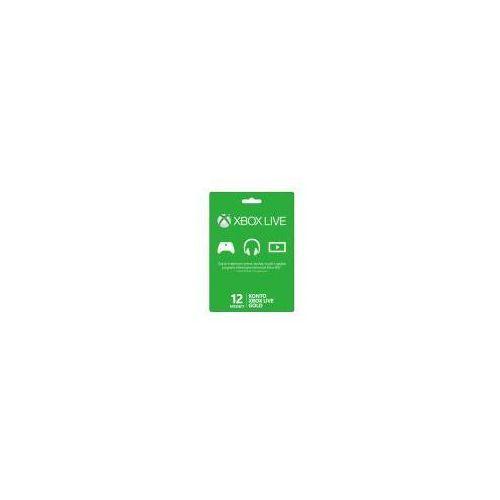 Karta Xbox Live.Microsoft Karta Subskrypcji Uslugi Xbox Live Gold Na 12 Miesiacy