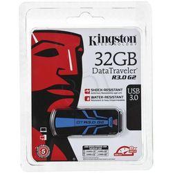 Kingston Flashdrive DataTraveler R3.0 G2 32GB USB 3.0 Czarno-niebieski- wysyłka dziś do godz.18:30. wysyłamy jak na wczoraj!
