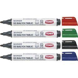 Zestaw do tablic suchościeralnych Toma TO-276 (4 markery+ścierak)