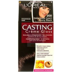 Loreal Paris Casting Creme Gloss Farba do włosów bez amoniaku Hebanowa Czerń nr 200