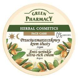 Green Pharmacy Herbal Cosmetics Krem do twarzy tłusty przeciwzmarszczkowy z arganem