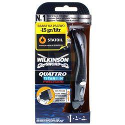 Wilkinson Quattro Titanium Precision Maszynka do golenia 1 szt. + wkład 1 szt.