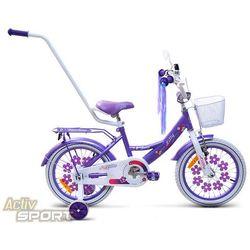 Rower dziecięcy 16 Lilly fioletowy - Fioletowy