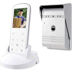 Video domofon bezprzewodowy Smartwares VD36W, Kompletny zestaw, Interkom drzwiowy z wideo, Dom jednorodzinny