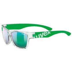 Okulary rowerowe Sportstyle 508 Clear/Green Zielony/Przezroczysty Mirror Green