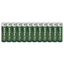 12 x Megacell Ultra Green R6/AA (taca)