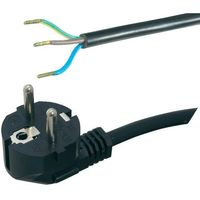 Kabel zasilający HAWA 1008222, H05VV- F 3G1 1,5 mm, 250 V, 16A,1,5 m, czarny