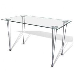 Stół ze szklanym blatem Zapisz się do naszego Newslettera i odbierz voucher 20 PLN na zakupy w VidaXL!