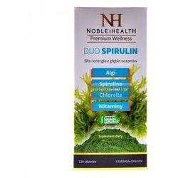 Noble Health DUO SPIRULIN 120 tabletek