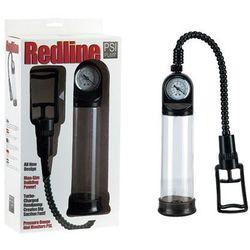 Redline PSI Pump Clear Pompka powiększająca do penisa z manometrem przezroczysta
