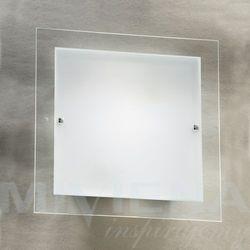 Andy plafon 2 mleczne szkło chrom 40 cm