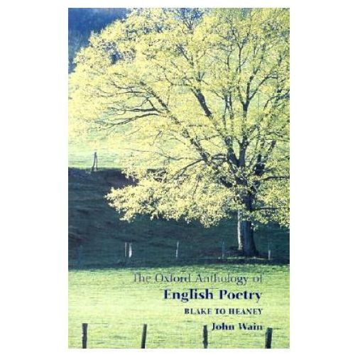 Oxford Anthology of English Poetry Volume II