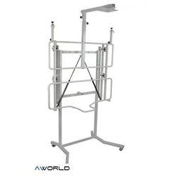 Mobilny regulowany statyw Avtek (do 50kg) - ręczna regulacja wysokości
