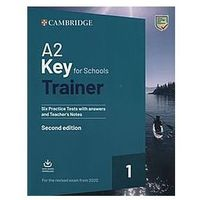 A2 Key for Schools Trainer 1 for the Revised Exam from 2020 (opr. miękka)