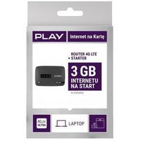 Router ALCATEL LinkZone Czarny + starter Play 3GB