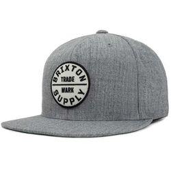 czapka z daszkiem BRIXTON - Oath Iii Snapback Heather Grey (HTGRY) rozmiar   OS 0c05ca531c21