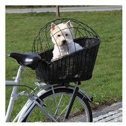 Trixie Kosz wiklinowy na bagażnik rowerowy czarny(13117)