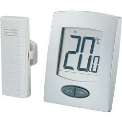 Termometr cyfrowy, bezprzewodowy WS-9008-IT, zewnętrzny czujnik