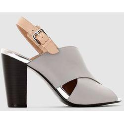 Skórzane sandały - LAURA CLEMENT