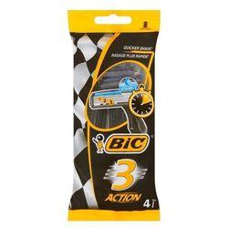 Maszynka do golenia BIC 3 Action 4 sztuki