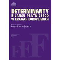 Determinanty bilansu płatniczego w krajach europejskich (opr. miękka)