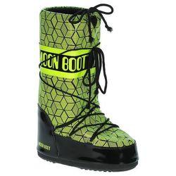 buty Tecnica Moon Boot Rave - Black/Fluor Yellow