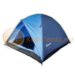 Namiot turystyczny 3 osobowy lekki z tropikiem King Camp FAMILY 3 niebieski
