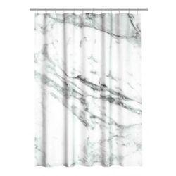 H&M Home Zasłona prysznicowa MARMUR 180x200