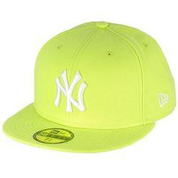 czapka z daszkiem New Era 59F League Basic MLB New York Yankees - Cyber Green