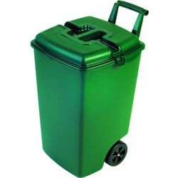 Pojemnik gospodarczy z pokrywą CURVER 90L na kółkach Zielony + DARMOWY TRANSPORT! + Zamów z DOSTAWĄ JUTRO! + Wyprzedaż ogrodu!