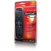 Pilot uniwersalny ELMAK BASIC 3w1 TV, SAT (rłwnieź DVB-T), D