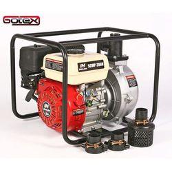 Motopompa spalinowa ciśnieniowa wirnik aluminiowy Holida SCWP-20GH 6 BAR