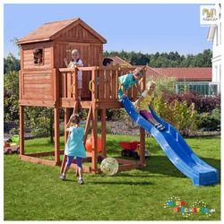 Ogrodowy domek ze zjeżdżalnią dla dzieci Fungoo MY HOUSE