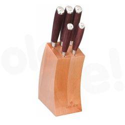 Gerlach 991 - zestaw 5 noży w bloku