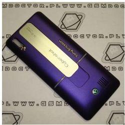 Obudowa Sony Ericsson K770i tylna / pokrywa baterii fioletowa