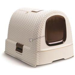 Kuweta dla kota Curver Petlife Litter Box - Kremowa